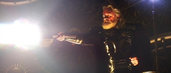 Odin casts Thor out