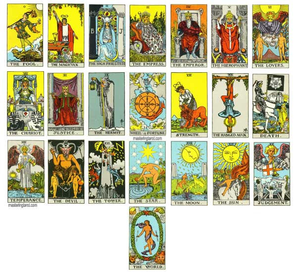 The Rider Waite Tarot Pack