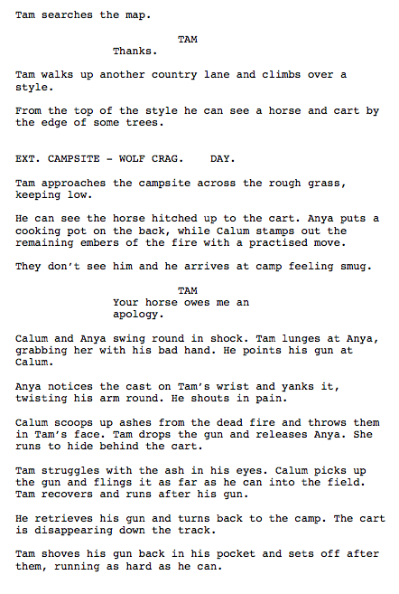 how to end a screenplay