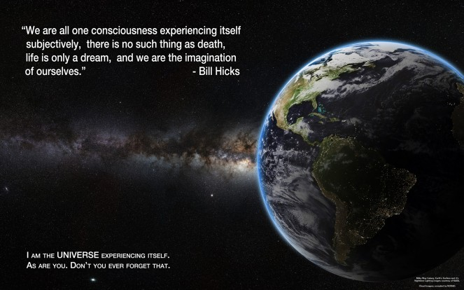 We're all one consciousness