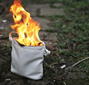 Burning Handbag