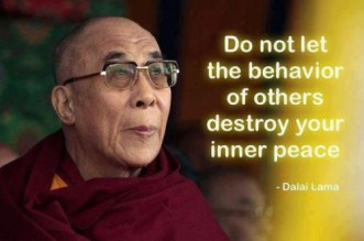 Behaviour of others quote