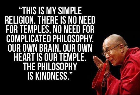 dalai-lama simple religion quote – Jessica Davidson