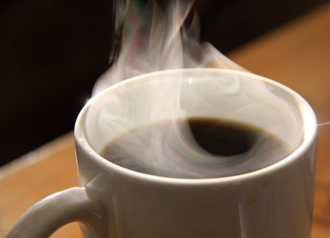 Steaming Coffee Mug