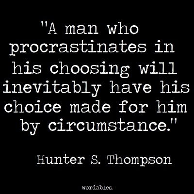 hunter-thompson-procrastination