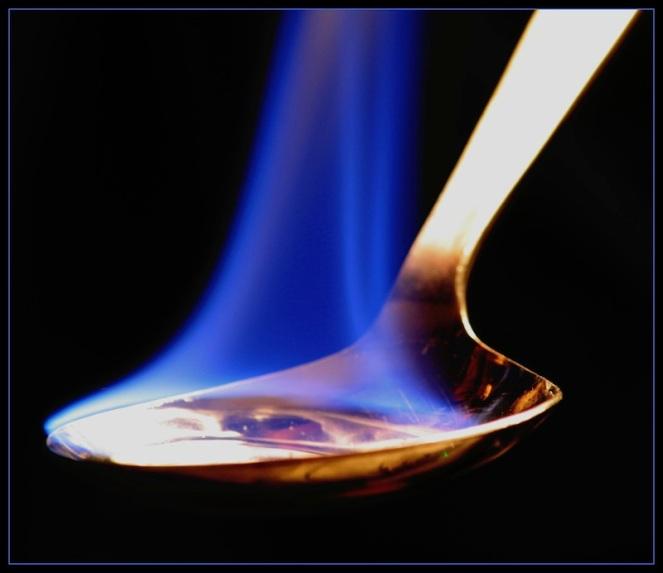 Burning Spoon
