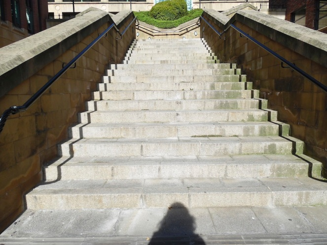 Steps and me