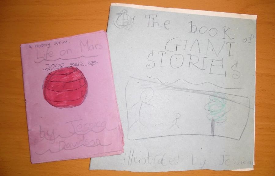 My first books
