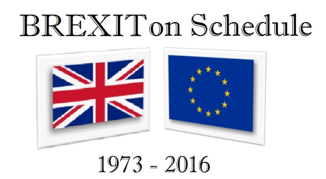 BREXIT-On-Schedule