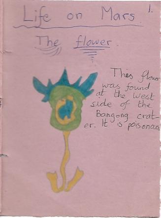 Life on Mars flower