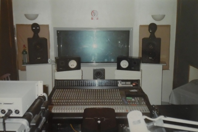 Control Room mixing desk