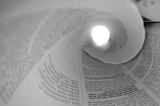 newspaper-tunnel