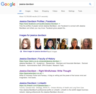Google Jessica Davidson