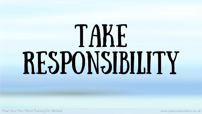 Buddhist Writing Prompt: Take responsibility
