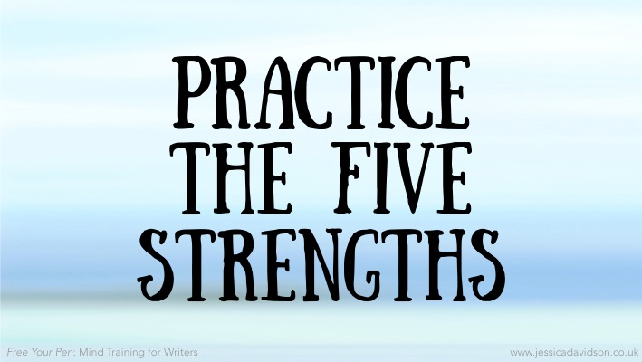 Buddhist Writing Prompt: Practice the Five Strengths