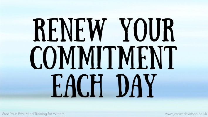 Buddhist Writing Prompt: Renew Your Commitment Each Day – Jessica ...