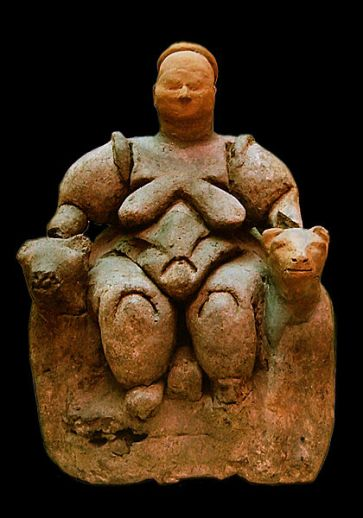 Seated Woman of Çatal Höyük