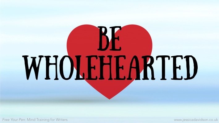 Buddhist Writing Prompt: Be Wholehearted