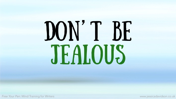 Buddhist Writing Prompt: Don't Be Jealous